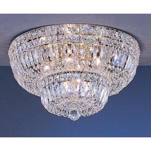 Empress 9-Light Semi-Flush Mount by Classic Lighting