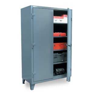 66H x 48W x 24D 2 Door Storage Cabinet by Strong Hold Products