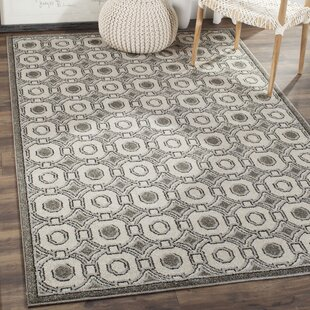 Maritza Ivory/Gray Indoor/Outdoor Area Rug