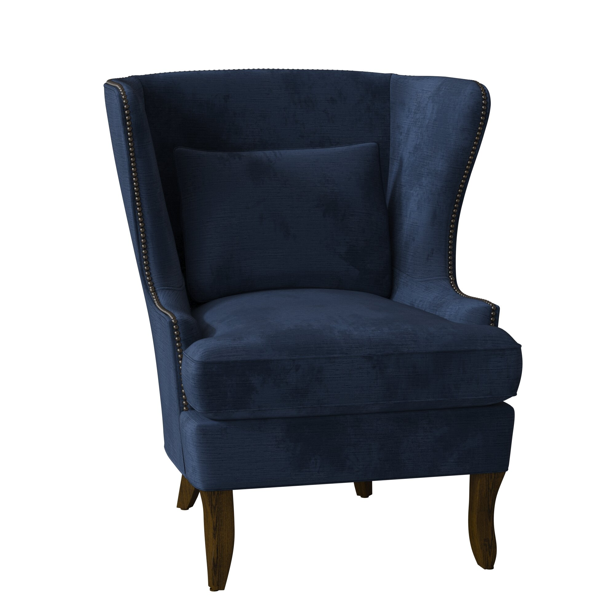 wayfair blue accent chair