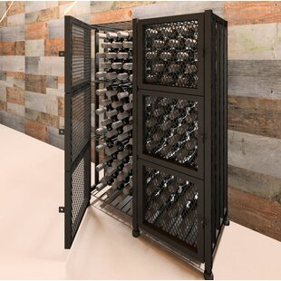Locker 96 Bottle Floor Wine Rack by VintageView