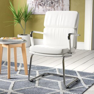 Deco Visitor Chair In White By Brayden Studio
