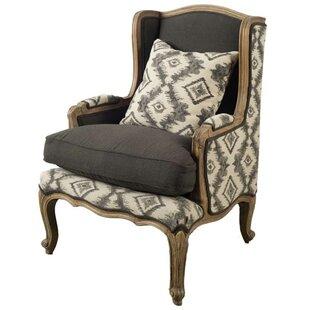 Loon Peak Renald Wingback Chair