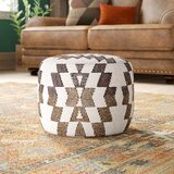 Branden Upholstered Pouf by Langley Street®