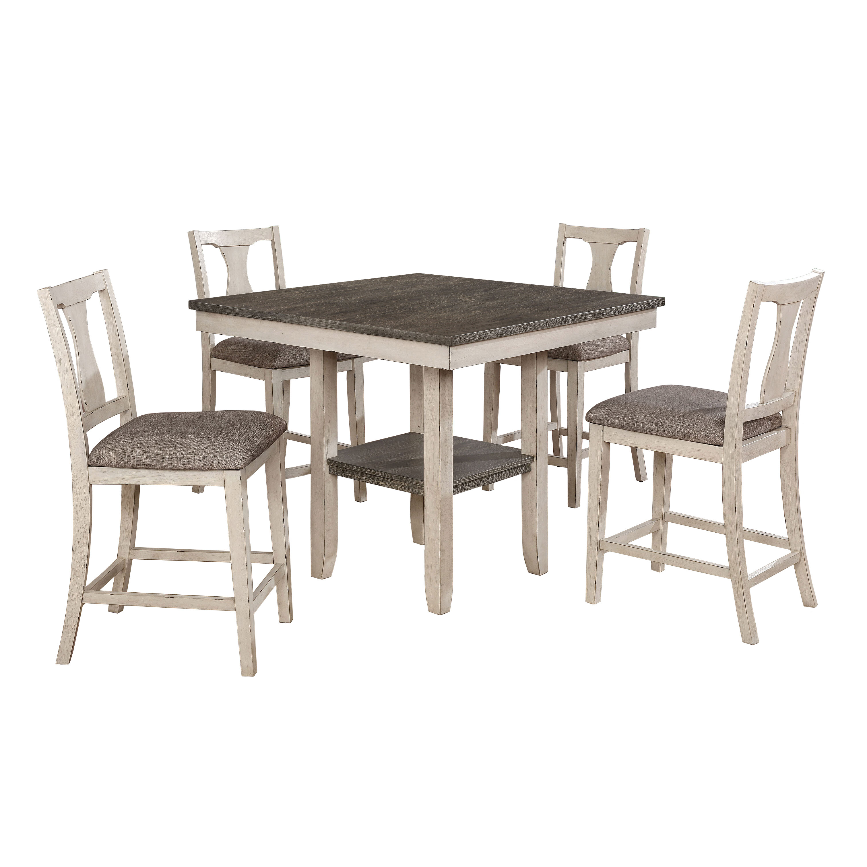 Highland Dunes Ember 5 Piece Counter Height Dining Set Reviews Wayfair Ca