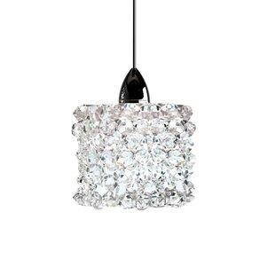 Rosdorf Park Mumford Quick Connect 1-Light Crystal Pendant