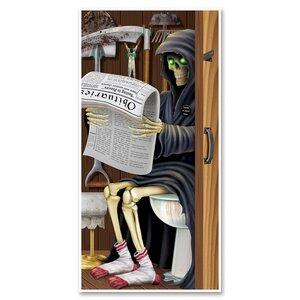 The Holiday Aisle Halloween Grim Reaper Restroom Door ...