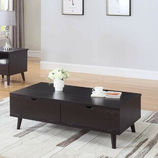 Bueno Modern Lift Top Wooden Coffee Table With Storage by George Oliver Discount