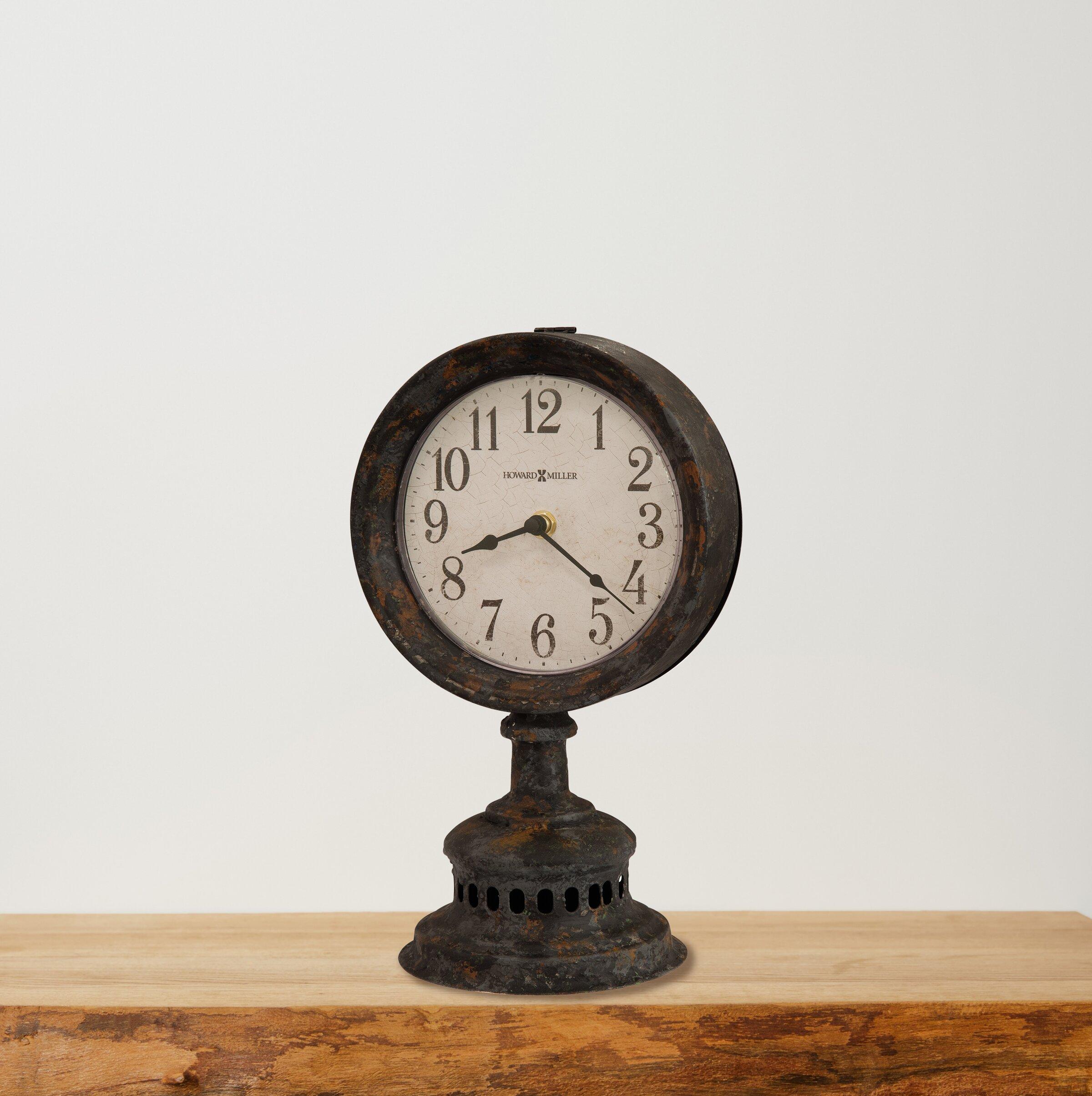 Howard Miller Ardie Tabletop Clock Reviews Wayfair