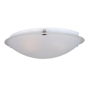 Andover Mills Strasburg 2-Light Flush Mount