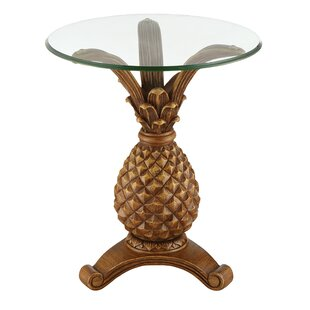 Bay Isle Home Richardson Pineapple End Table