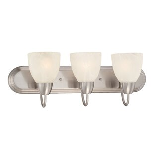 Jefferson 3-Light Vanity Light By Charlton Home Wall Lights