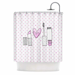 Girls Luv by MaJoBV Makeup Single Shower Curtain