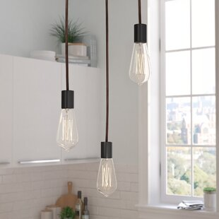 Sorensen Pendant with Clear Glass by Wrought Studio