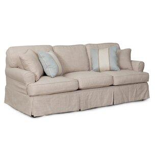 Beachcrest Home Coral Gables T-Cushion Sofa Slipcover