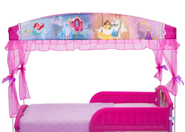 Disney Princess Toddler Canopy Bed  sc 1 st  Wayfair & Delta Children Disney Princess Toddler Canopy Bed u0026 Reviews | Wayfair