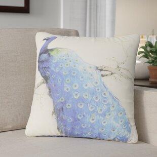 Ellicott Peacock Throw Pillow