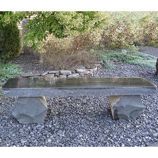 Basalt Park Bench by Stone Age Creations Best