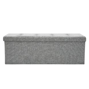 Winston Porter Philips Tufted Storage Ott..