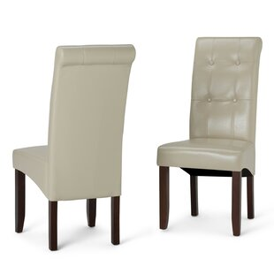 Amador Deluxe Upholstered Dining Chair (Set of 2) Alcott Hill