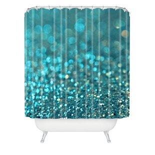 Brayden Studio Covell Aquios Extra Long Shower Curtain