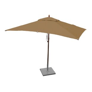Greencorner 10' X 6.5' Rectangular Market Umbrella