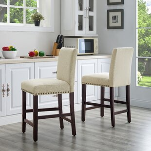 Compare & Buy Santillo 24.5 Bar Stool (Set of 2) by Charlton Home Reviews (2019) & Buyer's Guide