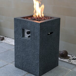 Blaine Concrete Propane Fire Column By Sol 72 Outdoor