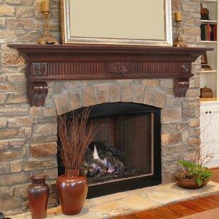 The Devonshire Fireplace Shelf Mantel By Pearl Mantels