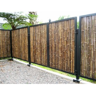 Outdoor Bamboo Fence Wayfair