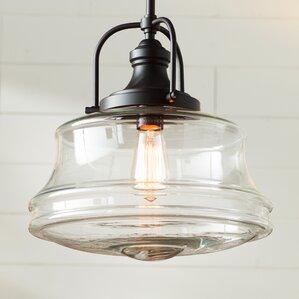 Nadine 1-Light Schoolhouse Pendant & Farmhouse Pendant Lights | Birch Lane azcodes.com