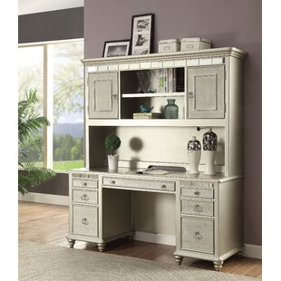 Allie Mirrored Writing Desk | Wayfair
