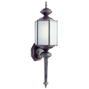 Shop For Lucerne 1-Light Outdoor Sconce By Charlton Home