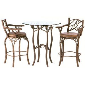 Ponderosa Pub Table Set by Kalco