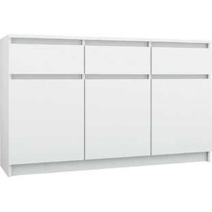 Mirabel 3 Drawer Combi Chest By Mercury Row