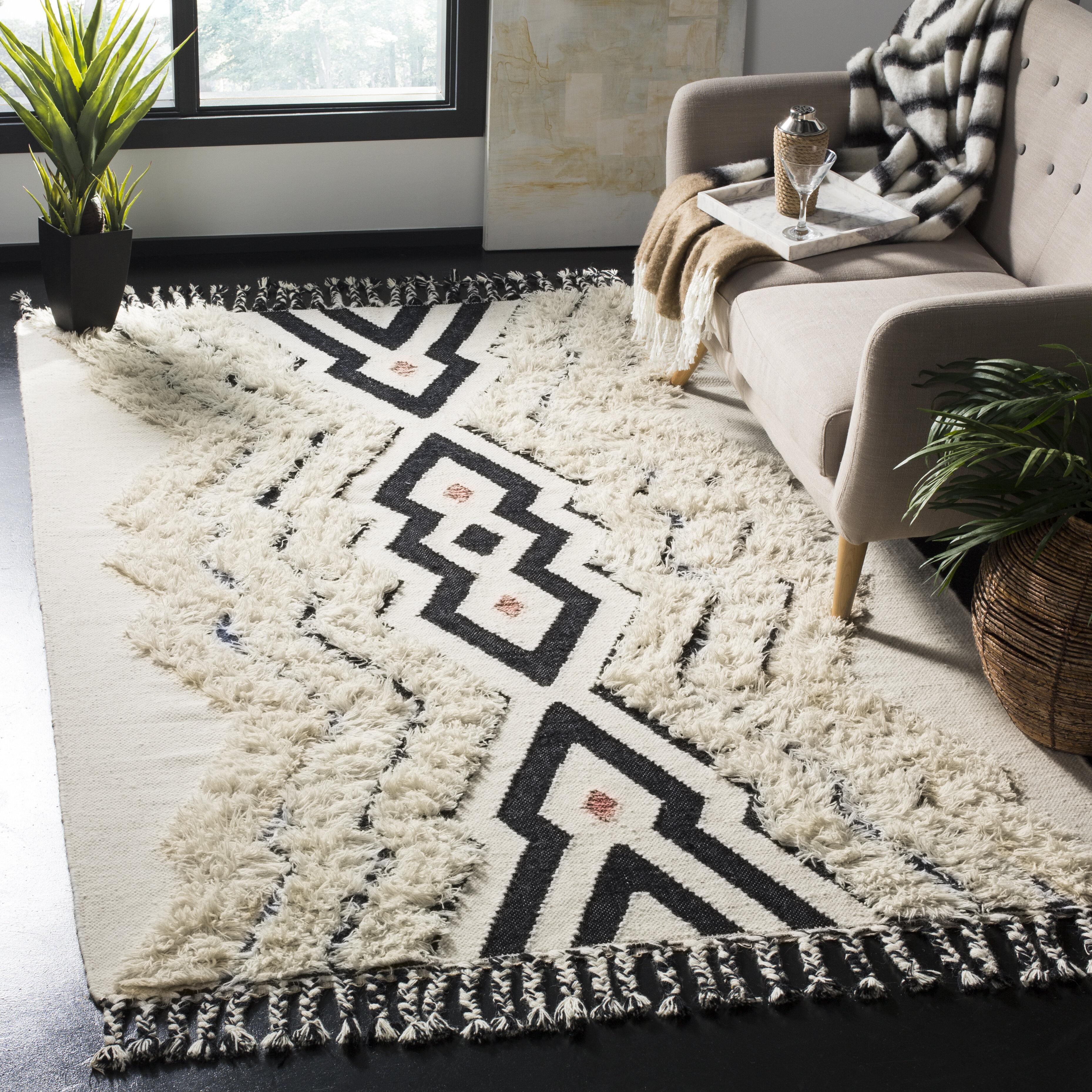 Black Wool Kitchen Rugs You Ll Love In 2021 Wayfair