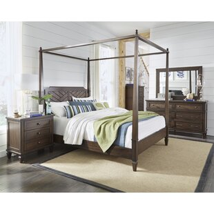 Soderlund Canopy Configurable Bedroom Set by Bay Isle Home