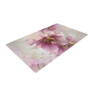 Sylvia Cook Hellabore Pink/Petals Area Rug