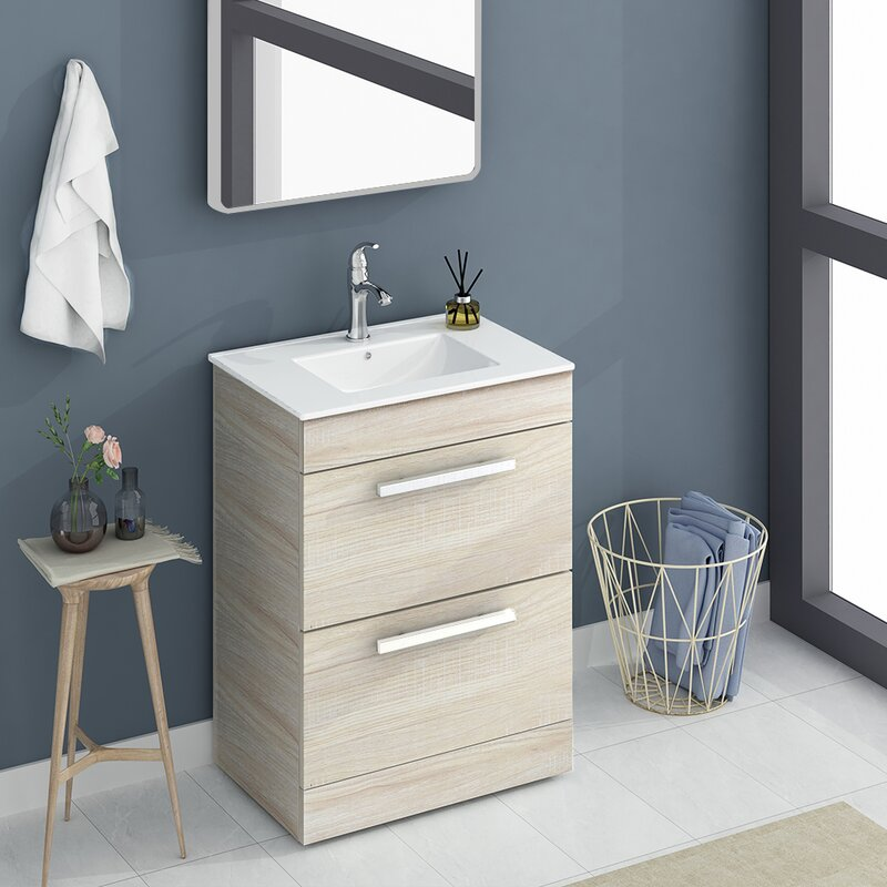 Latitude Run Adamarie 24 Single Bathroom Vanity Set Wayfair