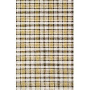 Kilim Hand-Woven Yellow/Black Area Rug