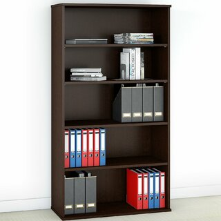 5 Shelf Standard Bookcase by Bush Business Furniture SKU:AA239685 Buy