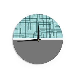 Trebam 'Pola' 12 Wall Clock by East Urban Home