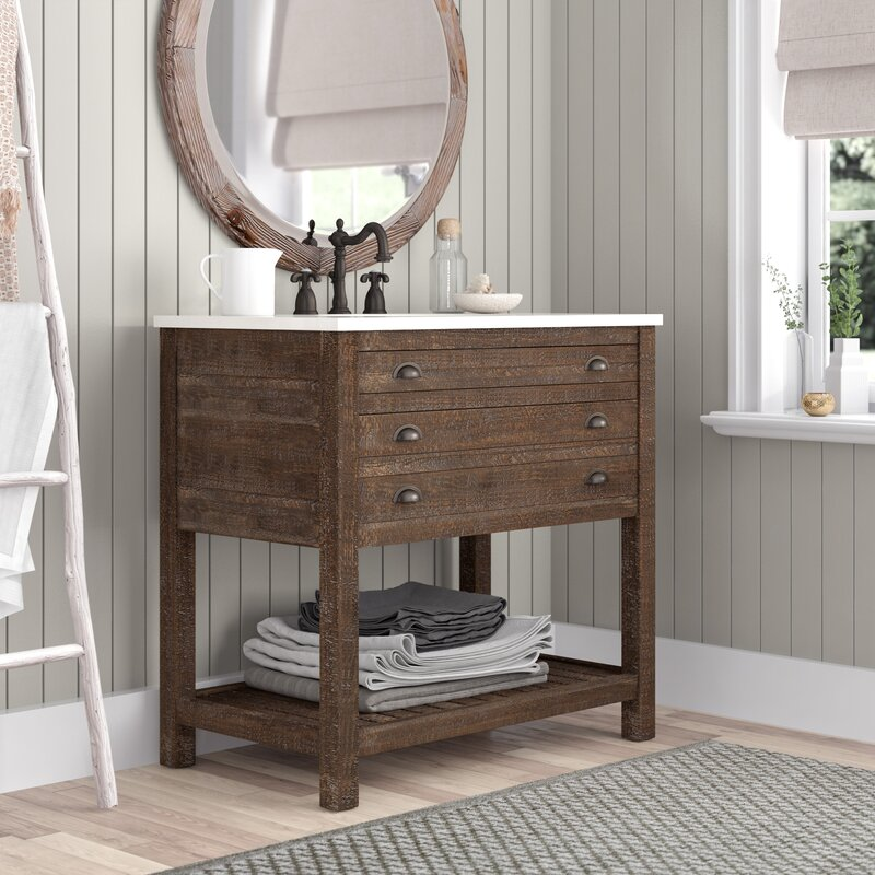 "Johnstown 36"" Single Bathroom Vanity Set"