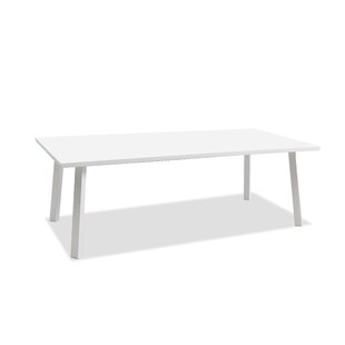 Best Indianola Outdoor Aluminum Dining Table Great Price