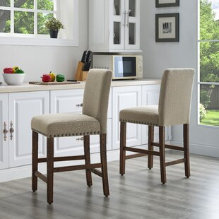 Santillo 24.5 Bar Stool (Set of 2) by Charlton Home