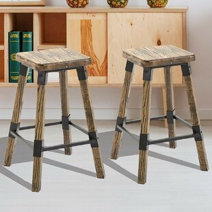 Best Reviews Topher 24 2 Piece Bar Stool Set (Set of 2) by Millwood Pines Reviews (2019) & Buyer's Guide