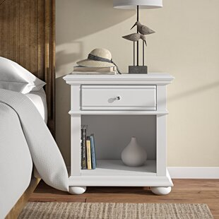 Kaleb 1 Drawer Nightstand by Beachcrest Home