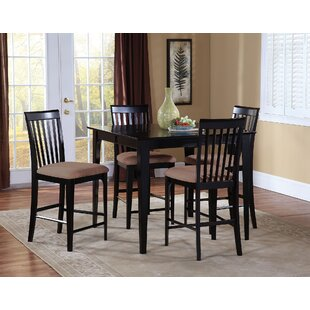 Crestwood 5 Piece Counter Height Dining Set by Andover Mills