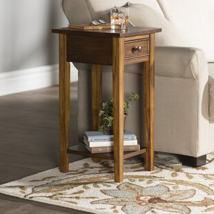 Anawan End Table by Alcott Hill