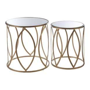 Erika 2 Piece Nest Of Tables By Canora Grey